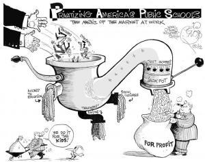 How Madison Avenue Runs Schools